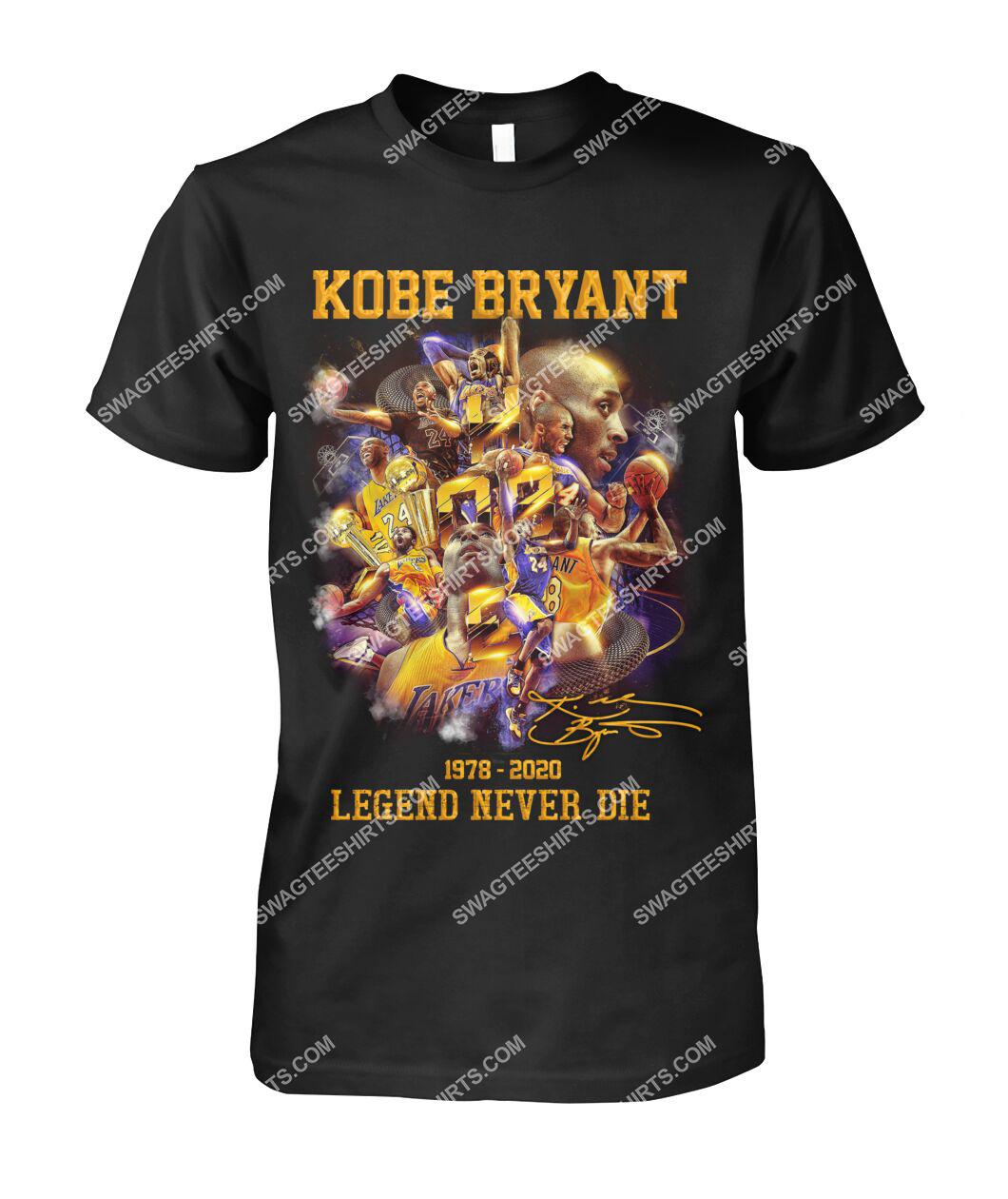 nba kobe bryant legends never die tshirt 1