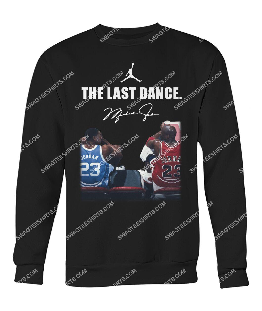 nba the last dance michael jordan sweatshirt 1