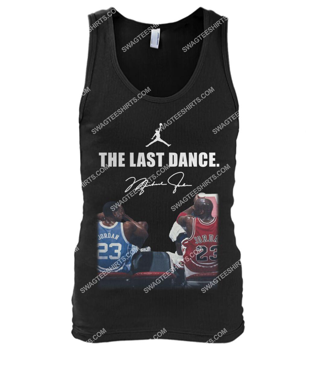 nba the last dance michael jordan tank top 1