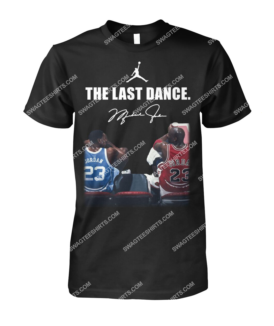 nba the last dance michael jordan tshirt 1