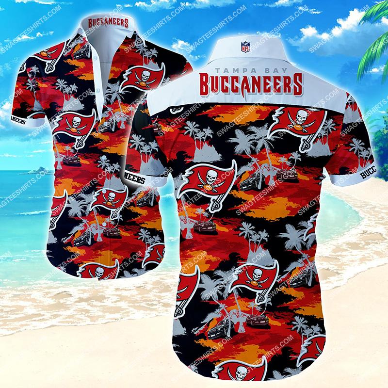 nfl tampa bay buccaneers all over print hawaiian shirt 2