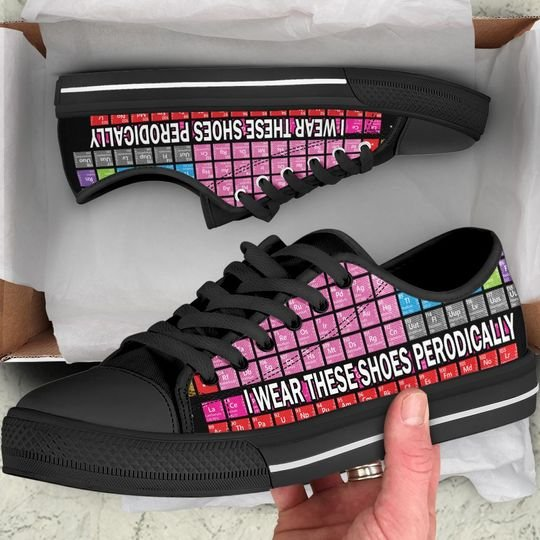 periodic table i wear these shoes periodically low top shoes 2