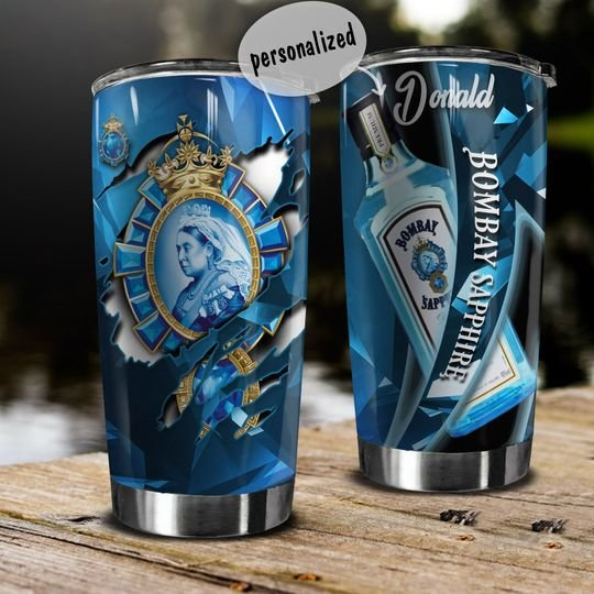 personalized name bombay sapphire gin tumbler 1 - Copy (2)