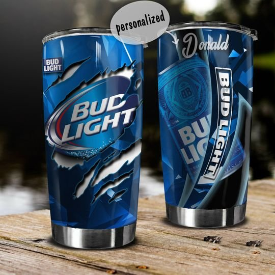 personalized name bud light beer tumbler 1 - Copy (2)