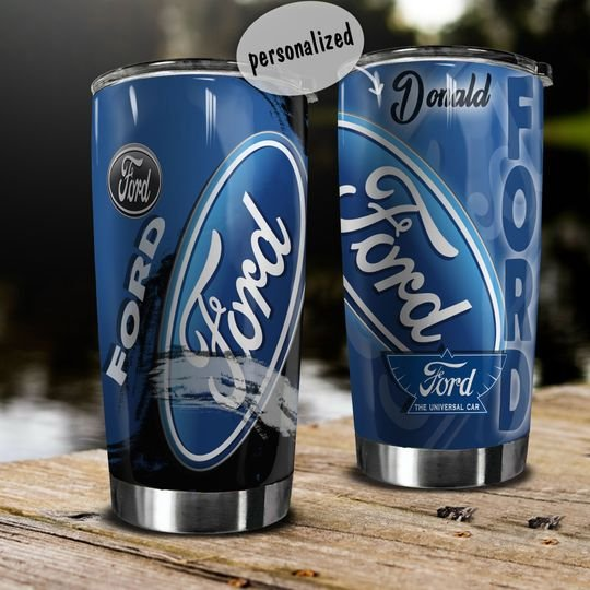 personalized name ford motor company tumbler 1 - Copy