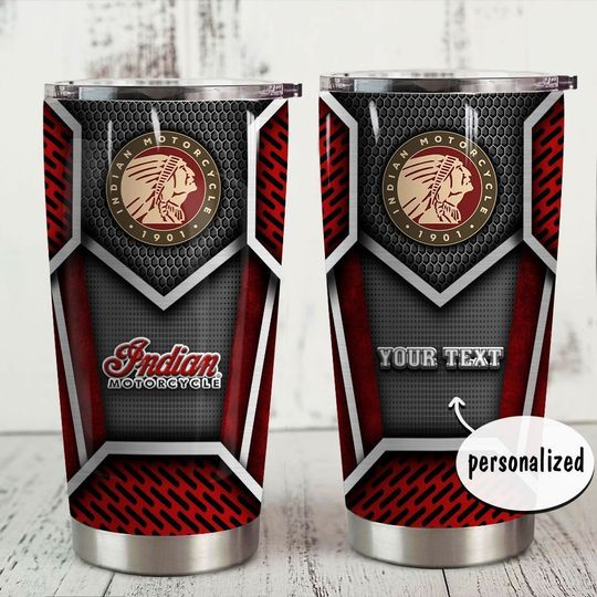 personalized name indian motorcycle tumbler 1 - Copy