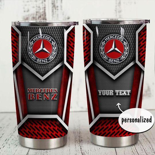 personalized name mercedes-benz tumbler 1
