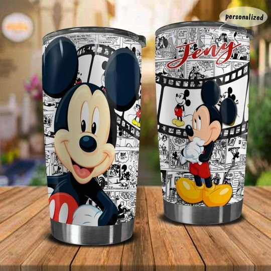 personalized name mickey mouse movie tumbler 1