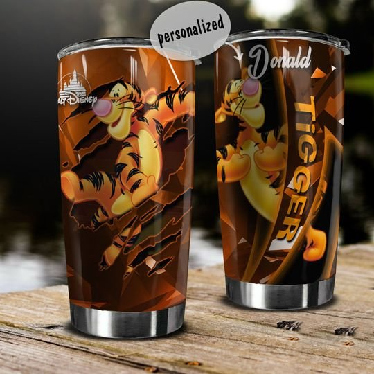 personalized name winnie-the-pooh tigger tumbler 1 - Copy (2)