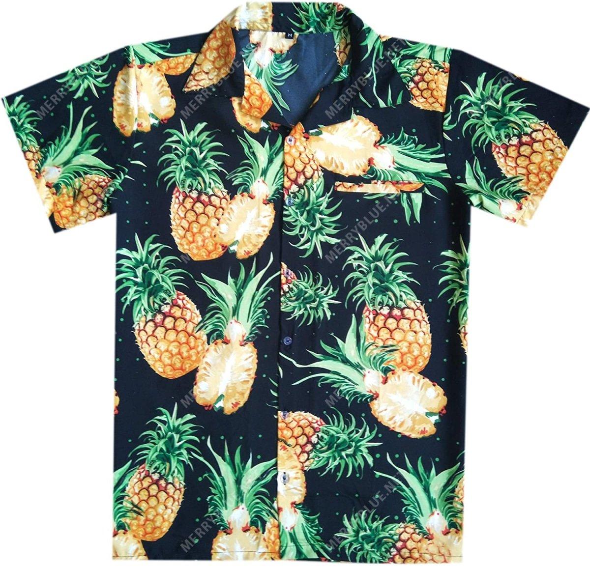 pineapple tropical all over printed hawaiian shirt 3