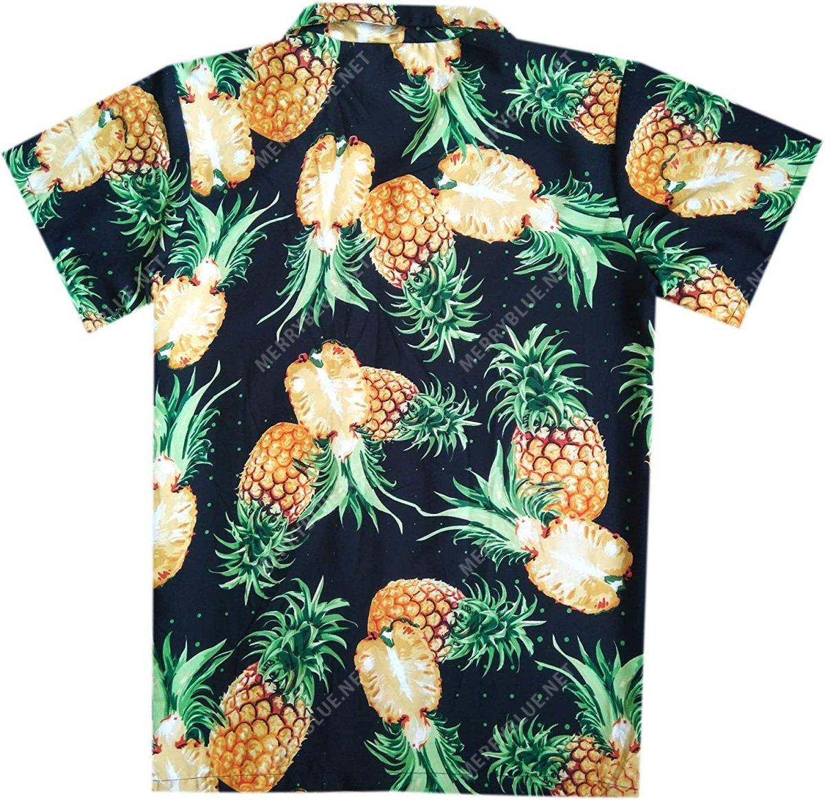 pineapple tropical all over printed hawaiian shirt 5