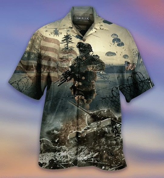 remember the day veteran american all over printed hawaiian shirt 5
