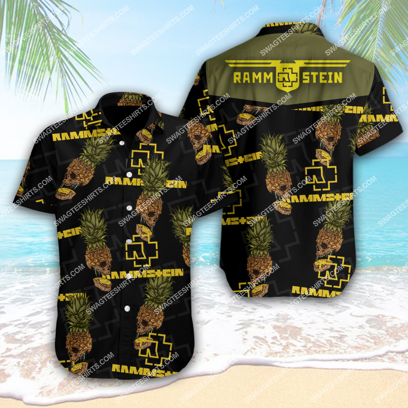 rock band rammstein full printing hawaiian shirt 1 - Copy(1)