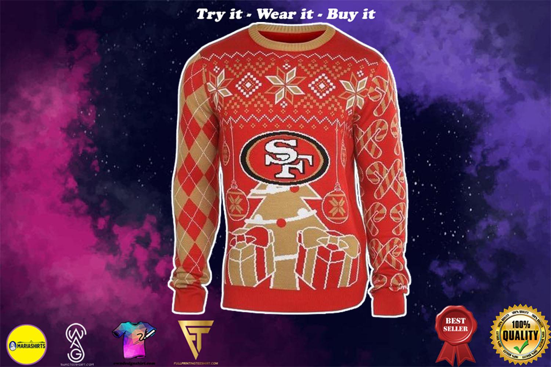 san francisco 49ers national football league ugly christmas sweater