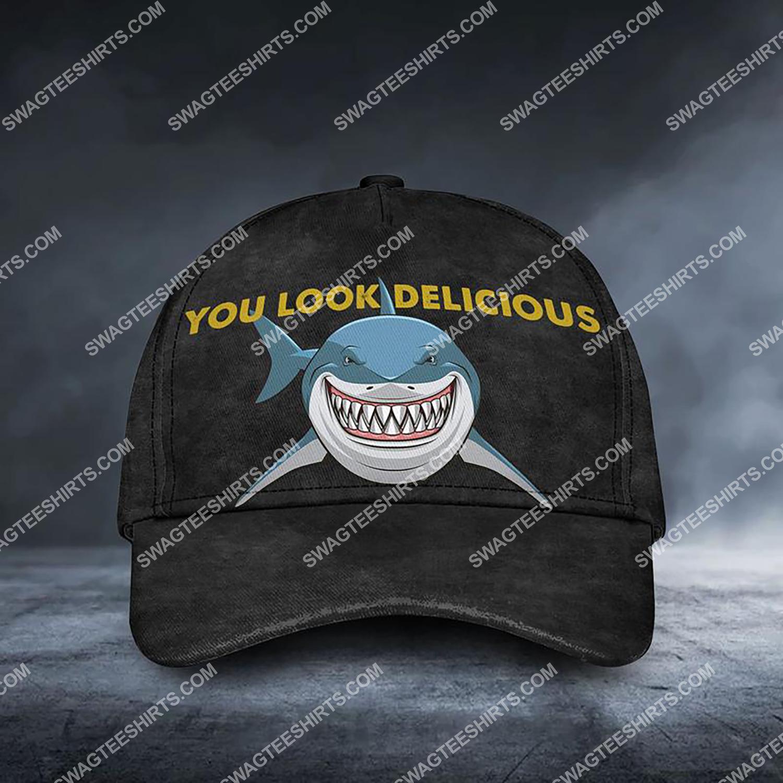 shark you should delicious all over printed classic cap 3 - Copy (2)