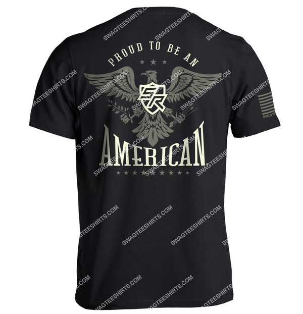 shield republic proud to be an american political shirt 2