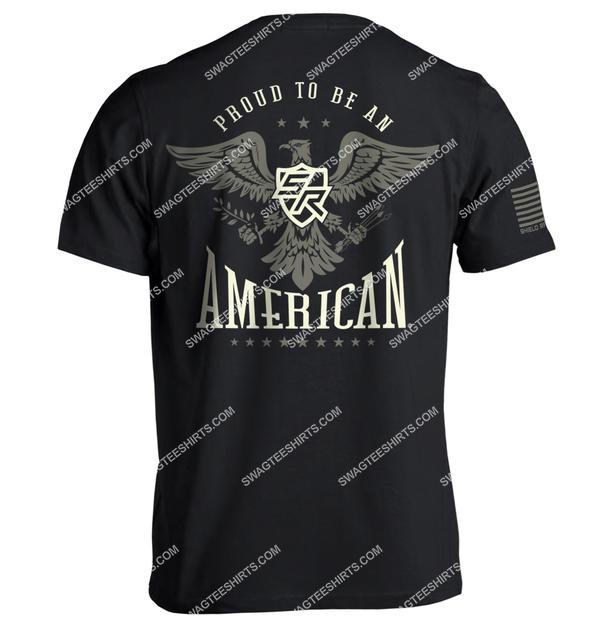 shield republic proud to be an american political shirt 3