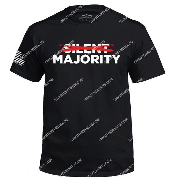silent majority nixon political full print shirt 2