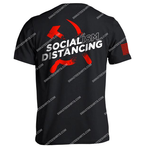 socialism distancing anti socialism political full print shirt 1