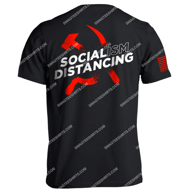 socialism distancing anti socialism political full print shirt 4
