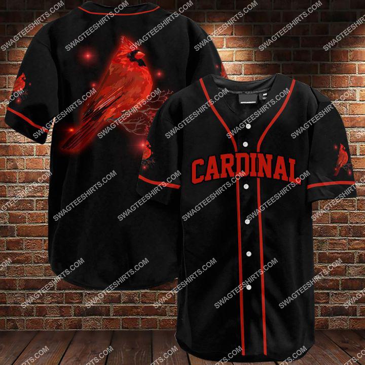 st louis cardinals full printing baseball shirt 1