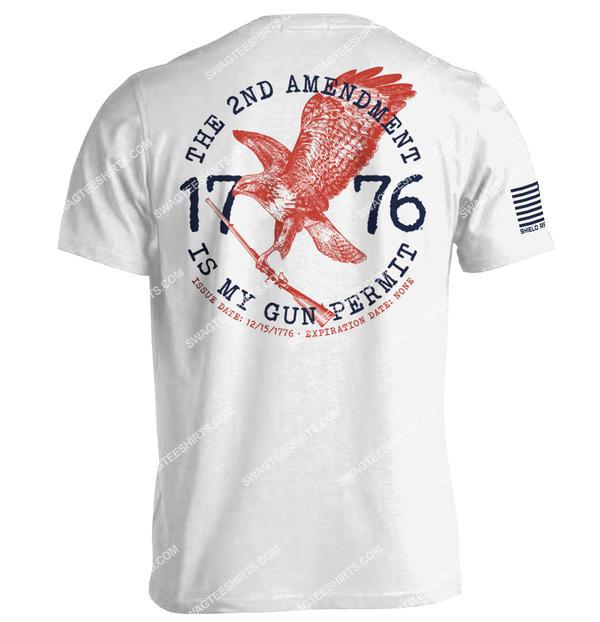 the 2nd amendment is my gun permit political full print shirt 4