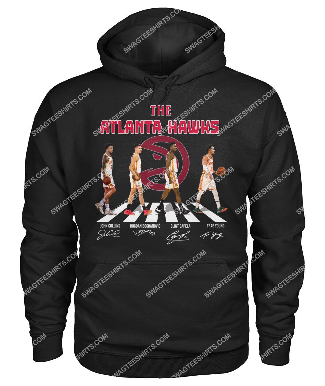 the atlanta hawks signatures abbey road hoodie 1