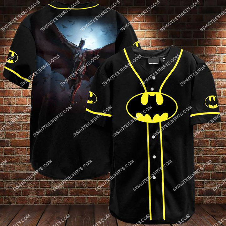 the batman all over printed baseball shirt 1 - Copy