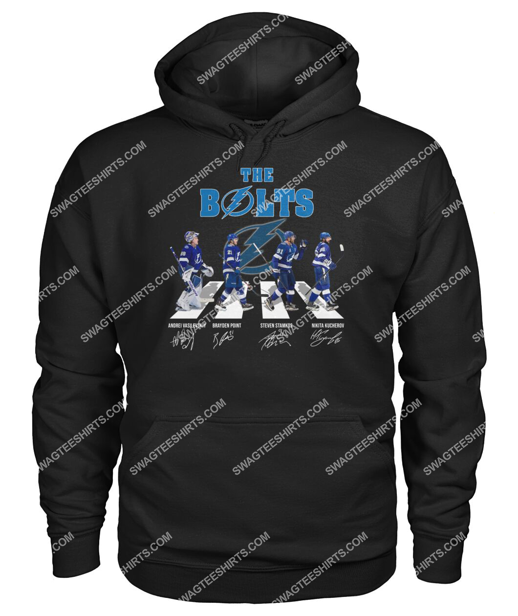 the bolts tampa bay lightning signatures abbey road hoodie 1