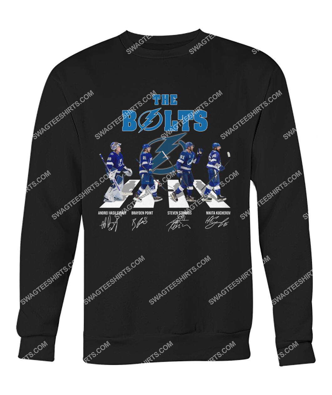 the bolts tampa bay lightning signatures abbey road sweatshirt 1