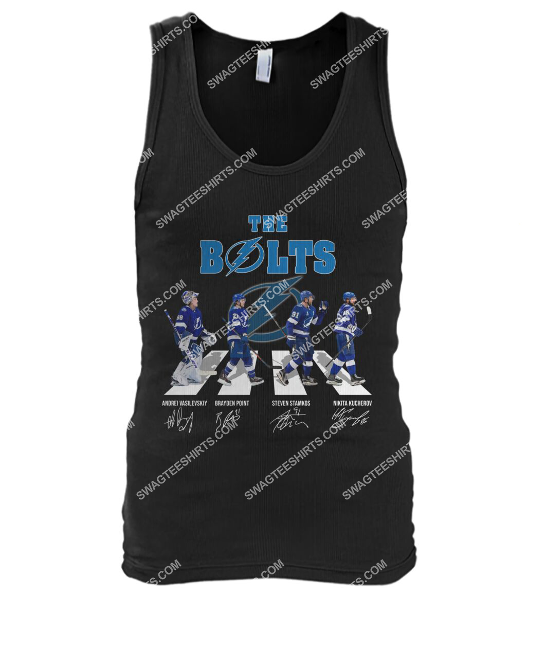 the bolts tampa bay lightning signatures abbey road tank top 1