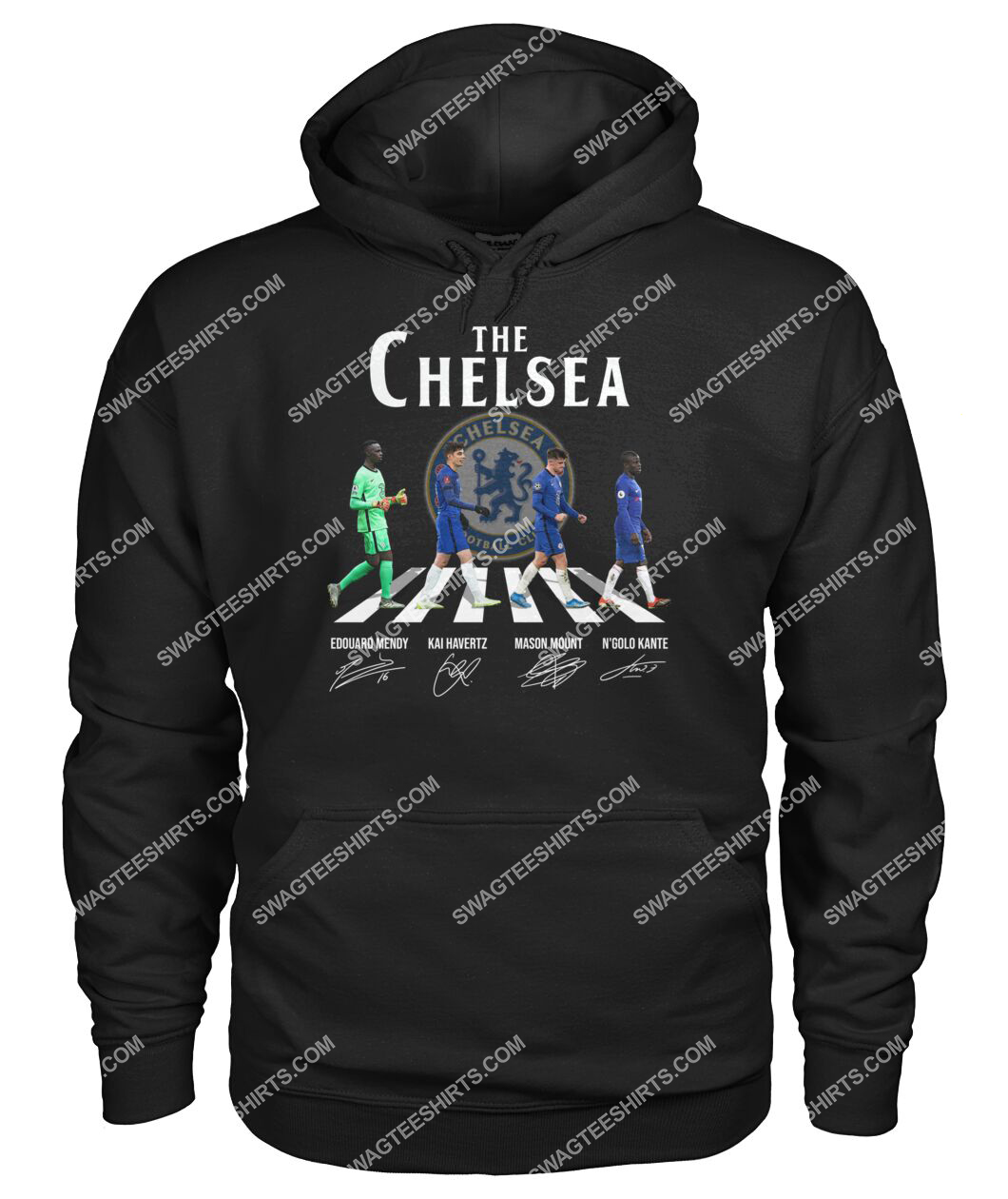 the chelsea fc walking abbey road signature hoodie 1