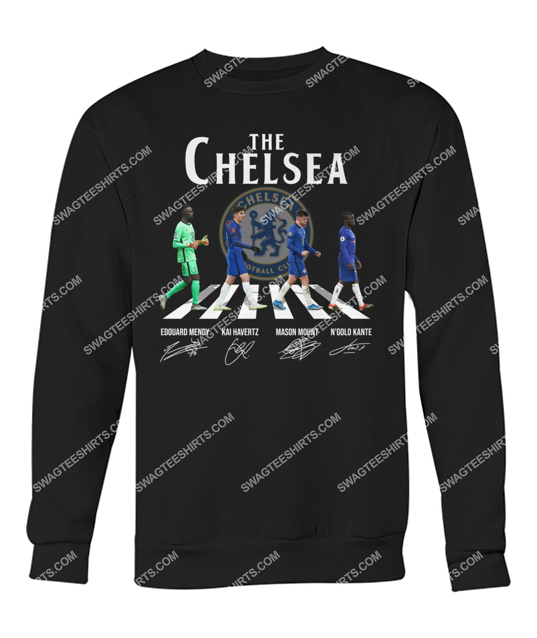the chelsea fc walking abbey road signature sweatshirt 1