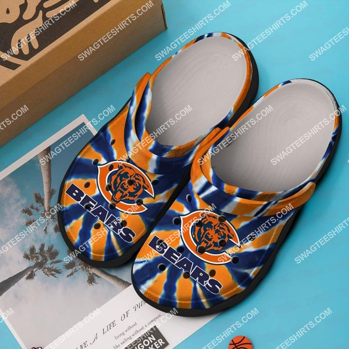 the chicago bears all over printed crocs crocband clog 2 - Copy