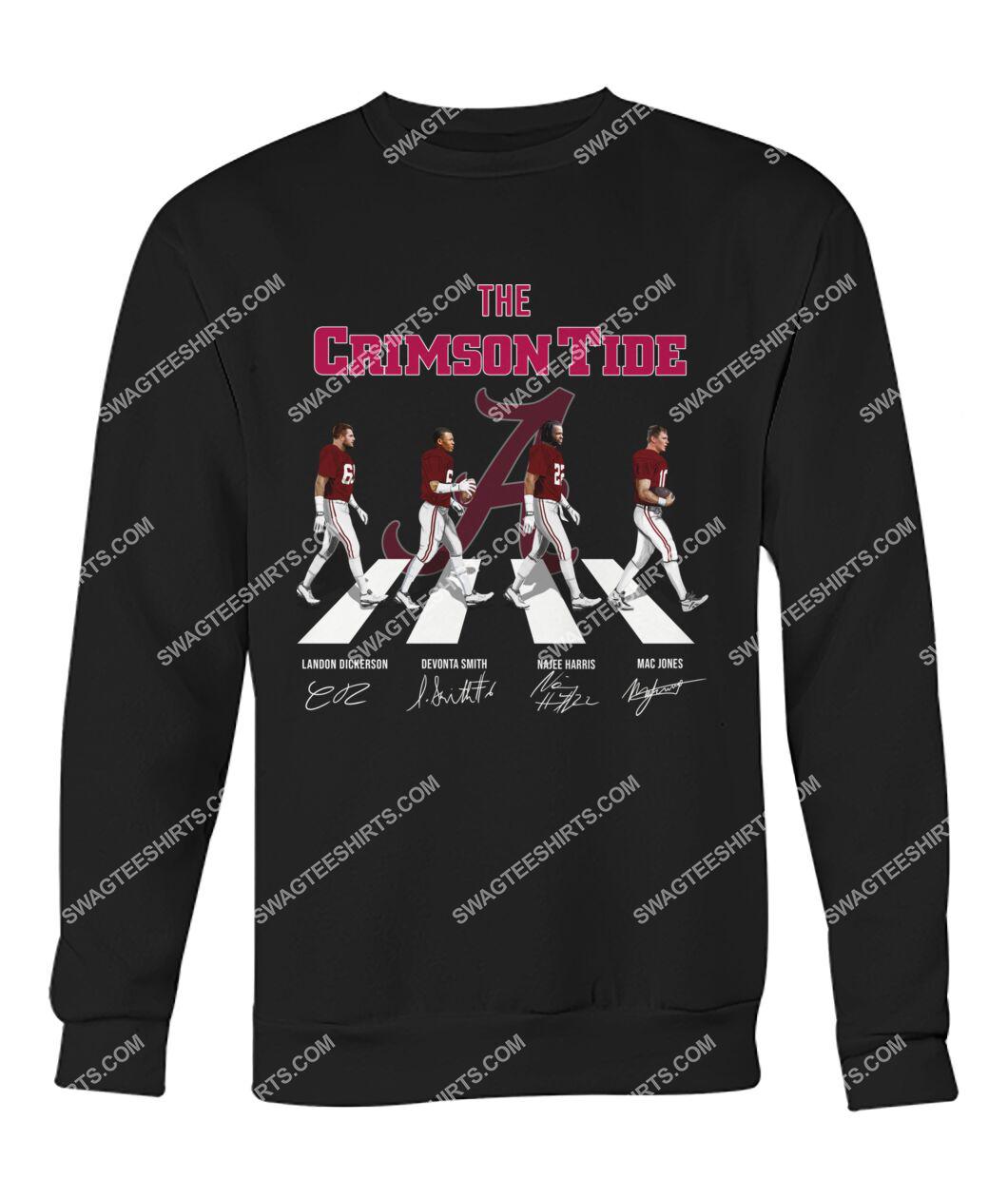the crimson tide walking abbey road sweatshirt 1