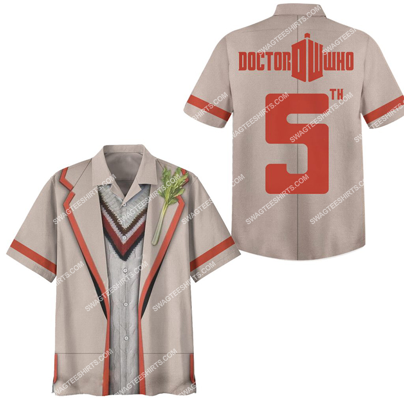 the doctor who tv show full print hawaiian shirt 2(1) - Copy