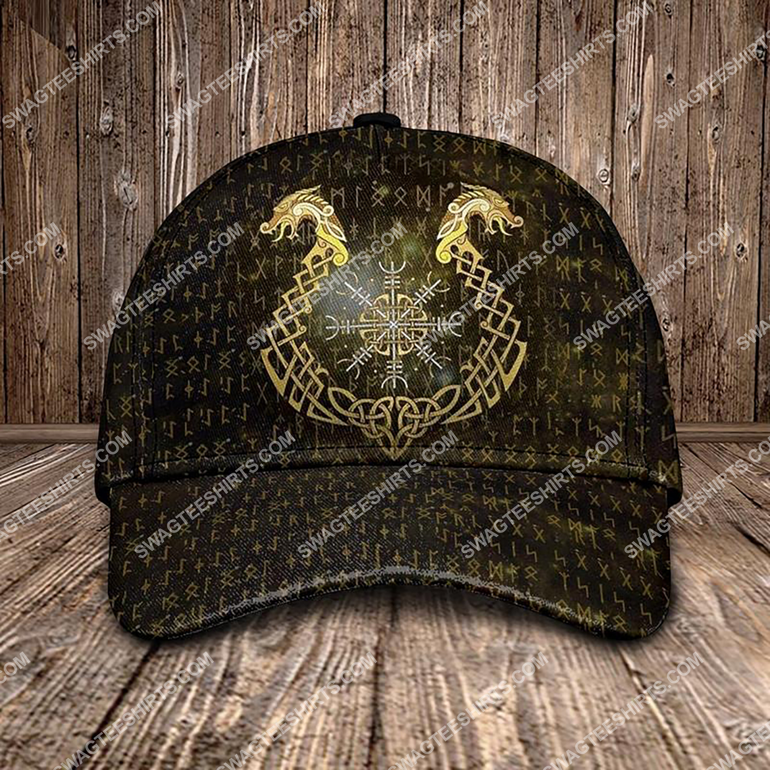 the dragon viking all over printed classic cap 3 - Copy (2)