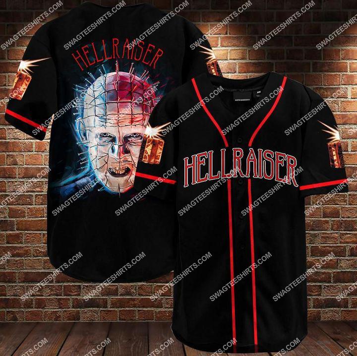 the hellraiser movie all over printed baseball shirt 1