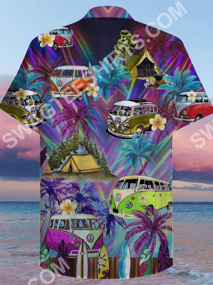 the hippie car all over printed hawaiian shirt 3(1)