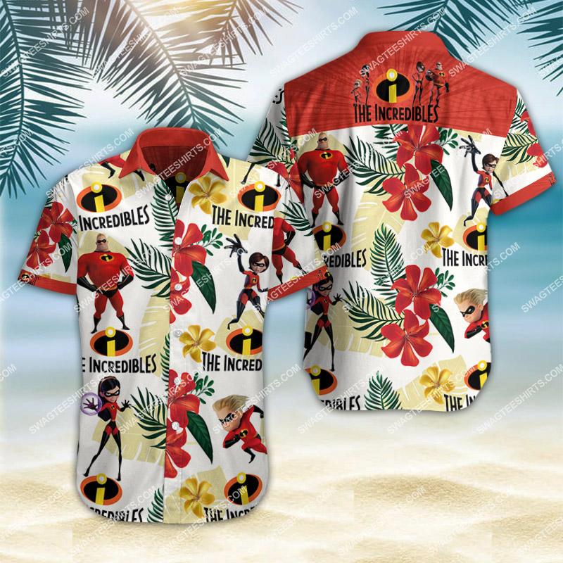 the incredibles all over print hawaiian shirt 2