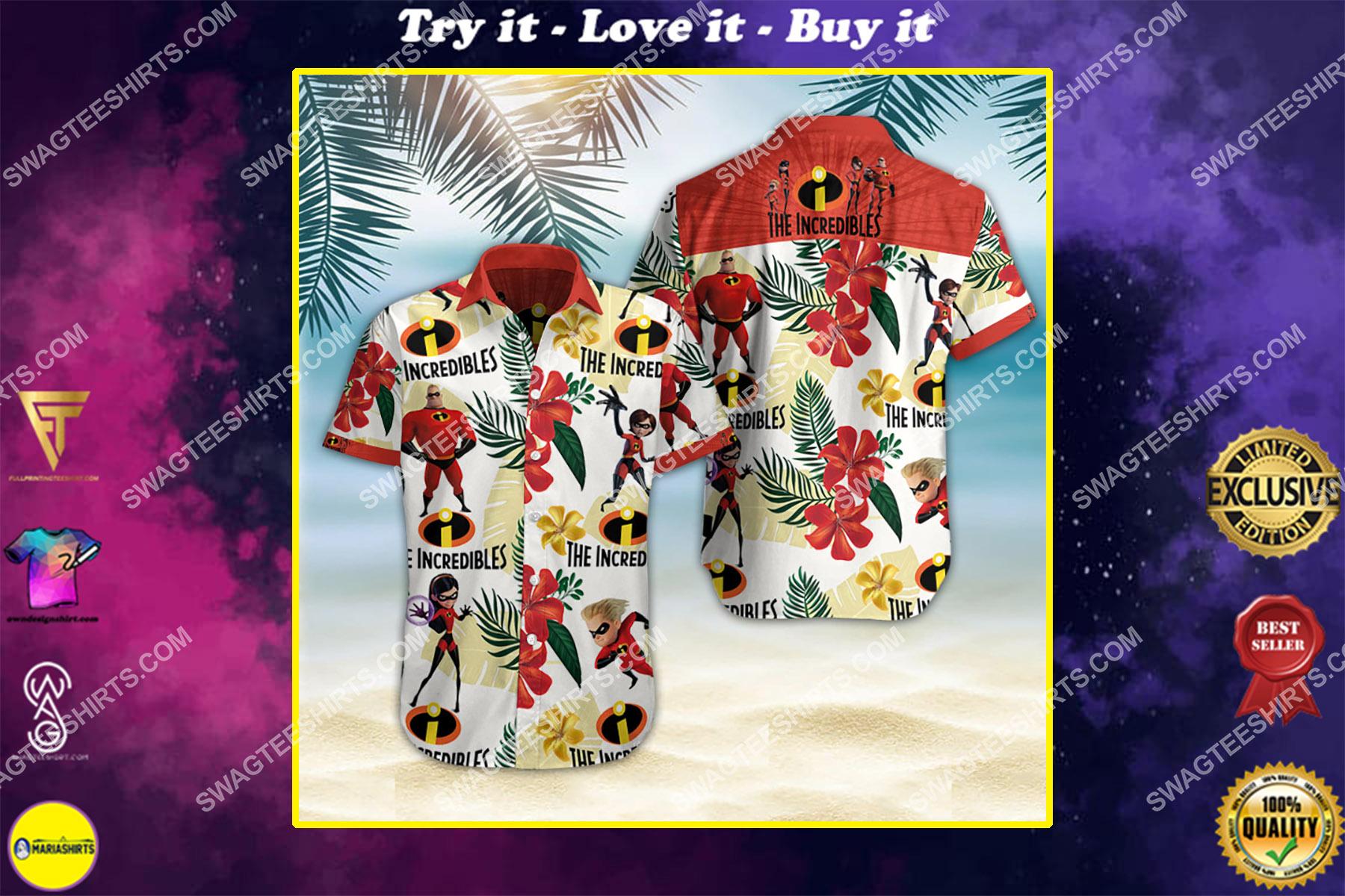 the incredibles all over print hawaiian shirt