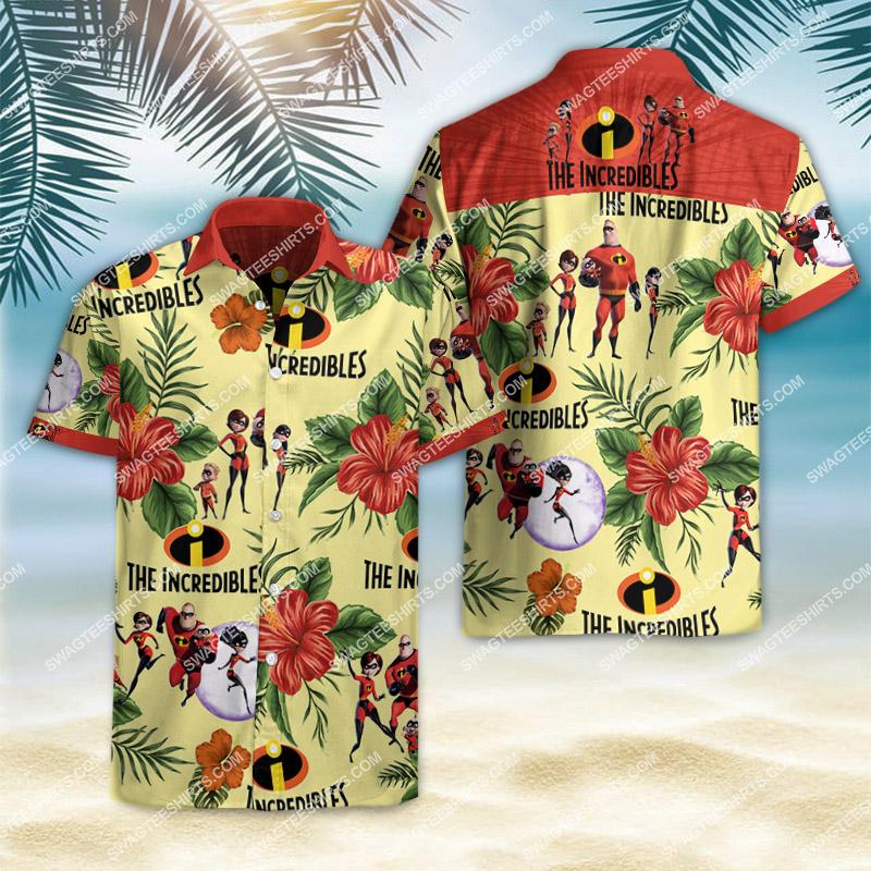 the incredibles movie all over print hawaiian shirt 2