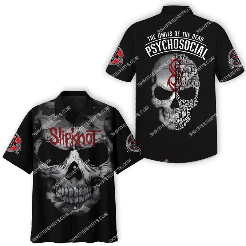 the limits of the dead slipknot band full printing hawaiian shirt 4(1)
