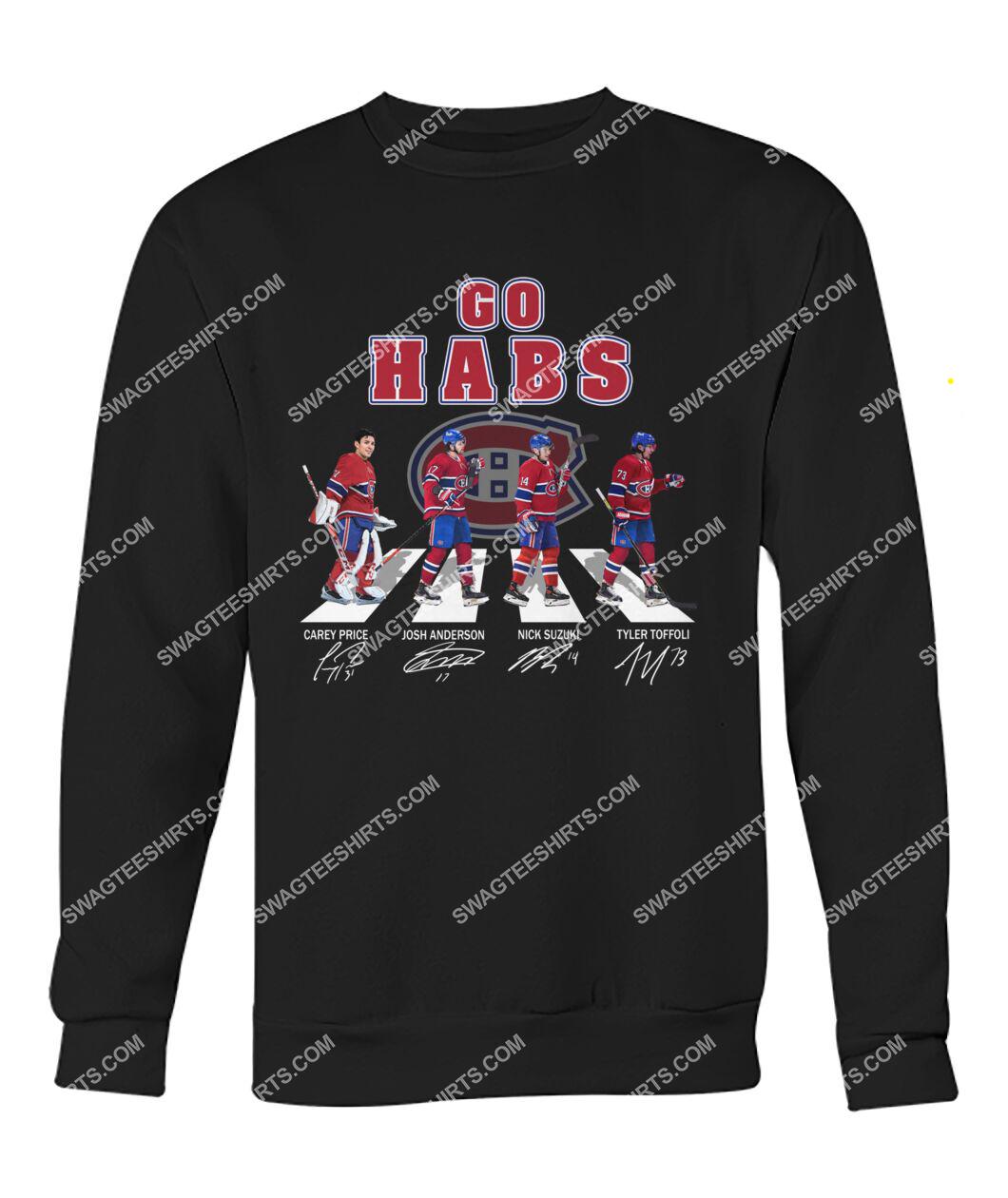 the montreal canadiens walking abbey road sweatshirt 1