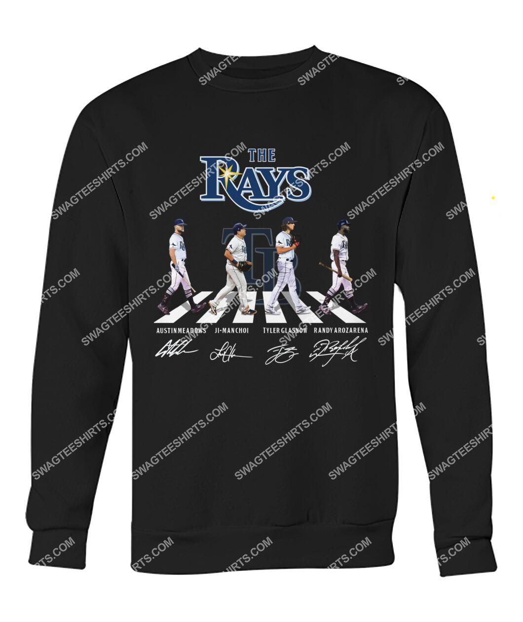 the tampa bay rays walking abbey road sweatshirt 1