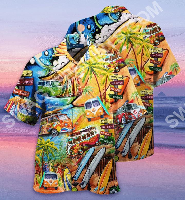 tropical hippie car all over printed hawaiian shirt 2(1)