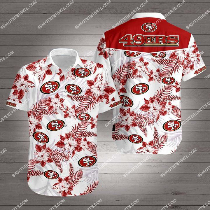 San francisco 49ers team hawaiian shirt 1