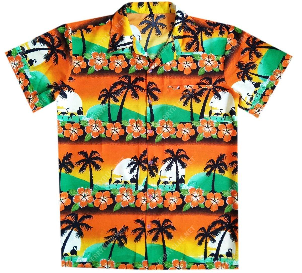 tropical summer beach all over printed hawaiian shirt 3