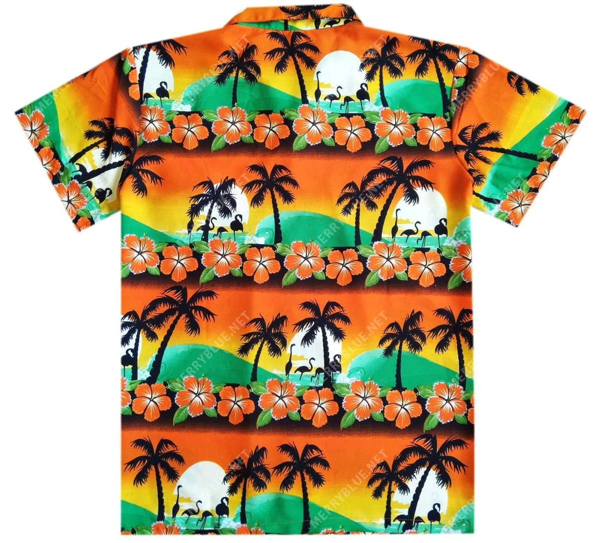 tropical summer beach all over printed hawaiian shirt 4