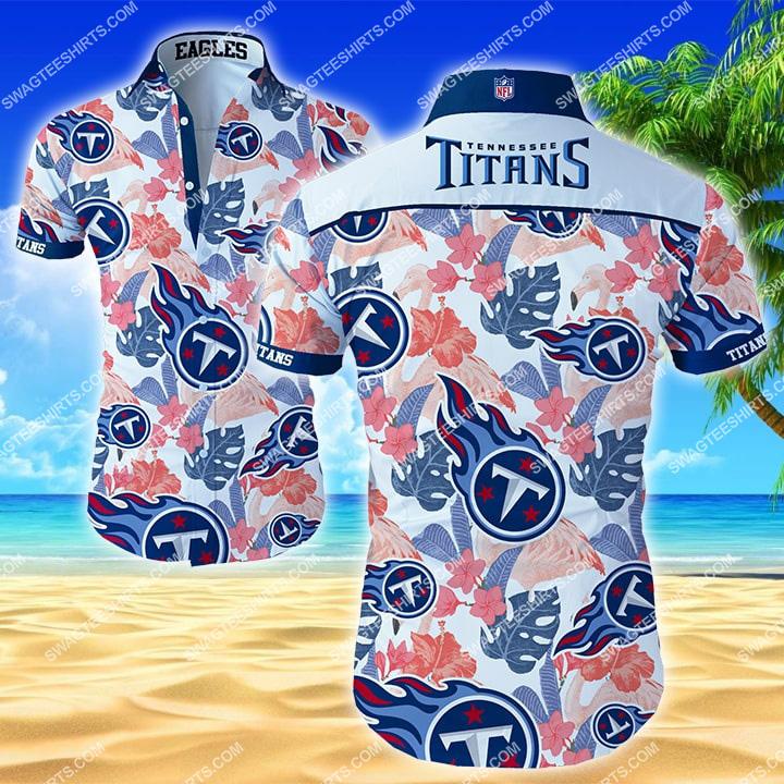 tropical tennessee titans football team hawaiian shirt 2 - Copy